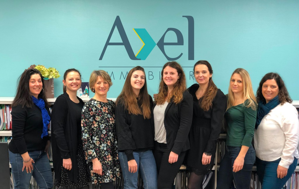 Equipe Gestion - Axel Immobilier